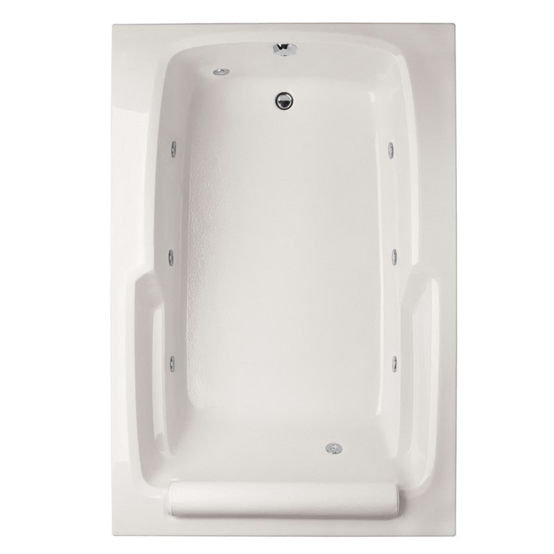 HYDRO SYSTEMS DUO7248ACO DESIGNER COLLECTION DUO 72 X 48 INCH ACRYLIC DROP-IN BATHTUB WITH COMBO SYSTEM