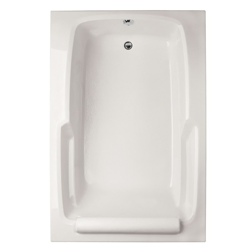 HYDRO SYSTEMS DUO7248ATO DESIGNER COLLECTION DUO 72 X 48 INCH ACRYLIC DROP-IN BATHTUB