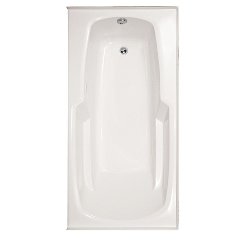 HYDRO SYSTEMS ENT6632GTA-LH DESIGNER COLLECTION ENTRE 66 X 32 INCH GEL COAT DROP-IN BATHTUB WITH THERMAL AIR SYSTEM , LEFT HAND DRAIN