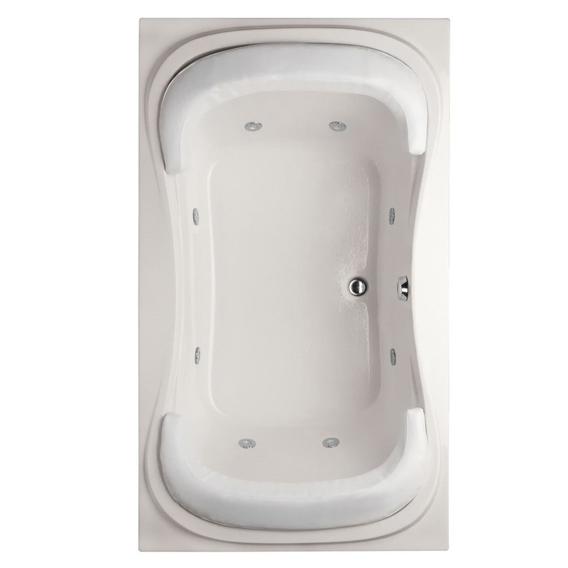 HYDRO SYSTEMS FAN7242AWP DESIGNER COLLECTION FANTASY 72 X 42 INCH ACRYLIC DROP-IN BATHTUB WITH WHIRLPOOL SYSTEM