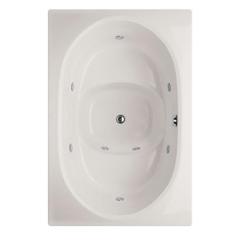 HYDRO SYSTEMS FUJ6040GWP DESIGNER COLLECTION FUJI 60 X 40 INCH GEL COAT DROP-IN BATHTUB WITH WHIRLPOOL SYSTEM