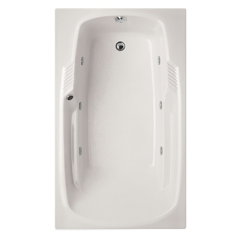 HYDRO SYSTEMS ISA6636AWP DESIGNER COLLECTION ISABELLA 66 X 36 INCH ACRYLIC DROP-IN BATHTUB WITH WHIRLPOOL SYSTEM