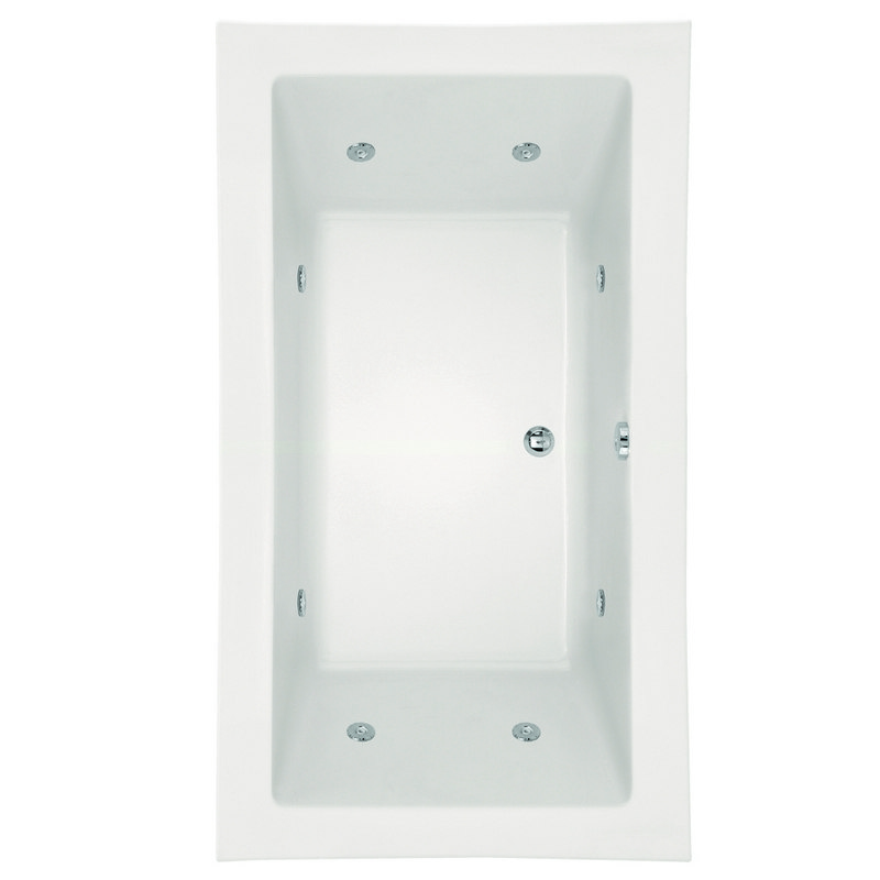 HYDRO SYSTEMS KAY7442ACO DESIGNER COLLECTION KAYLA 74 X 42 INCH ACRYLIC DROP-IN BATHTUB WITH COMBO SYSTEM