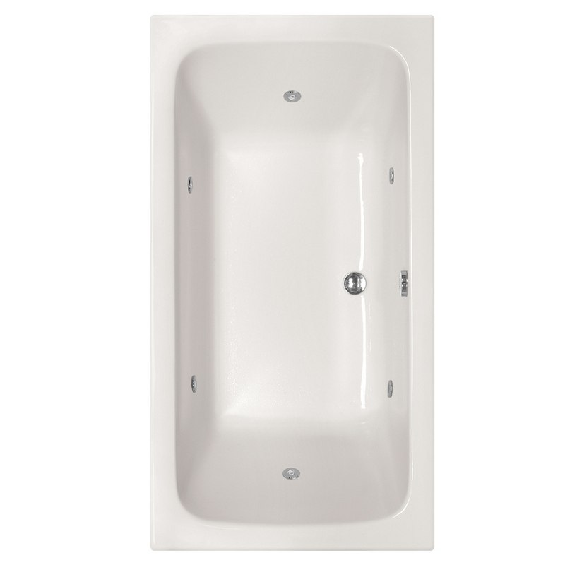 HYDRO SYSTEMS KIR7232ACO DESIGNER COLLECTION KIRA 72 X 32 INCH ACRYLIC DROP-IN BATHTUB WITH COMBO SYSTEM