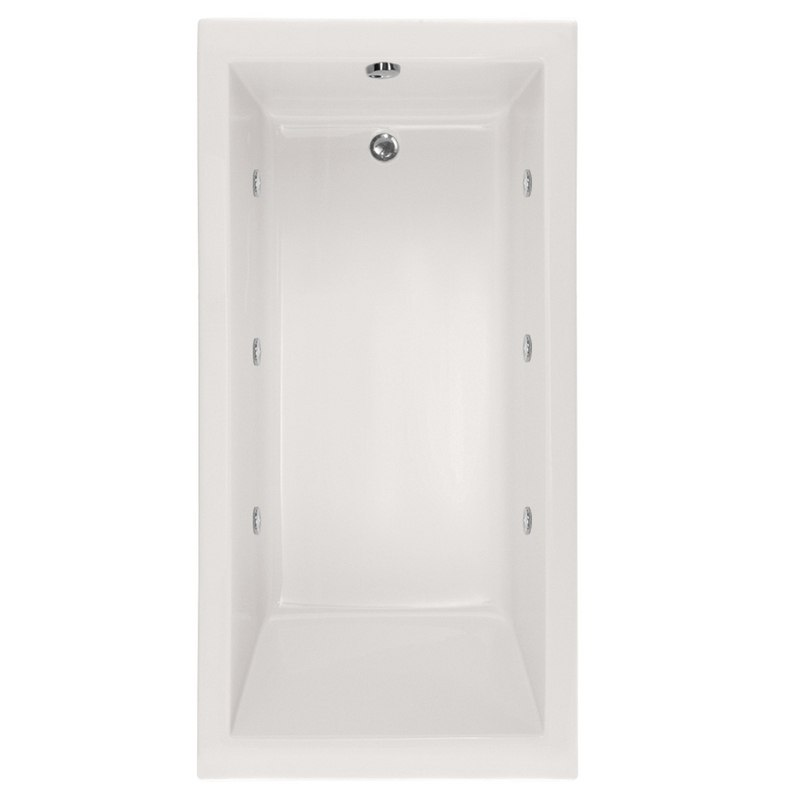 HYDRO SYSTEMS LAC6030AWP DESIGNER COLLECTION LACEY 60 X 30 INCH ACRYLIC DROP-IN BATHTUB WITH WHIRLPOOL SYSTEM