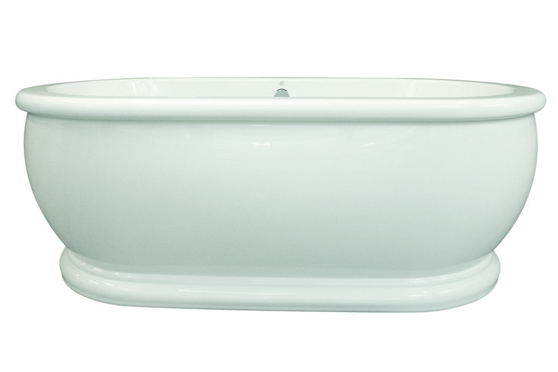 Hydro Systems Mdm6636ato Whi Maestro Collection Domingo 66 X 36 Inch Acrylic Freestanding Bathtub Hydro Systems