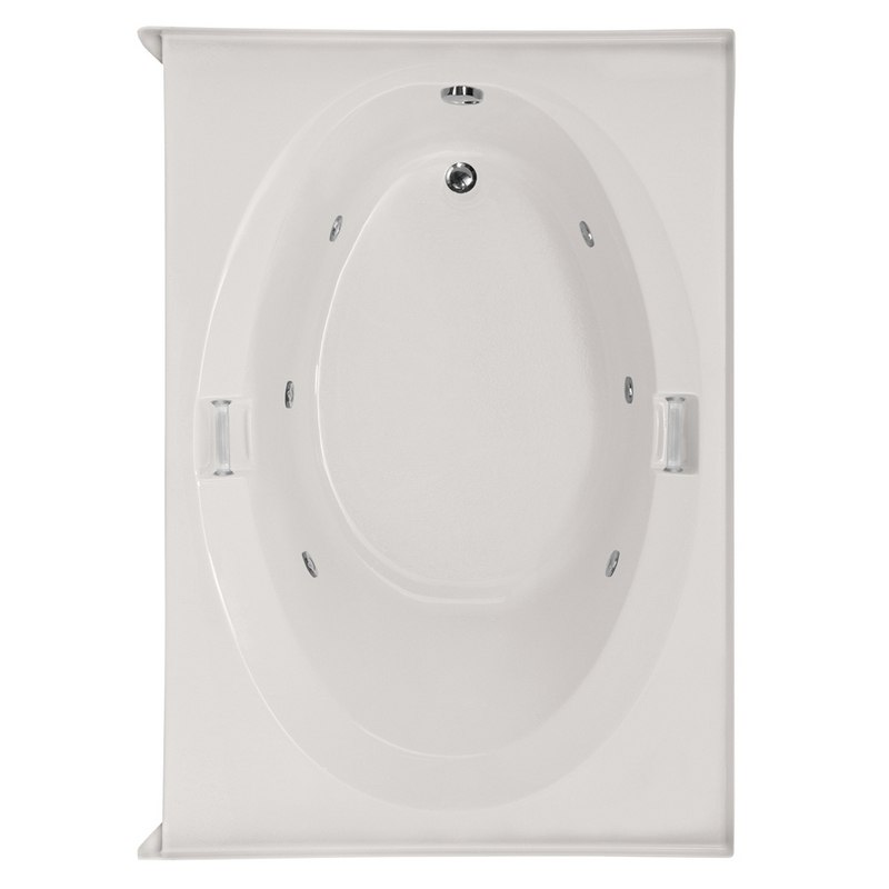 HYDRO SYSTEMS MRL6636ACO DESIGNER COLLECTION MARLIE 66 X 36 INCH ACRYLIC DROP-IN BATHTUB WITH COMBO SYSTEM