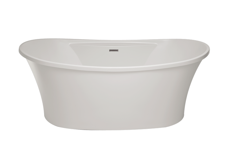 HYDRO SYSTEMS SBRE6636ATA STUDIO COLLECTION BREANNE 66 X 36 INCH ACRYLIC FREESTANDING BATHTUB WITH THERMAL AIR SYSTEM