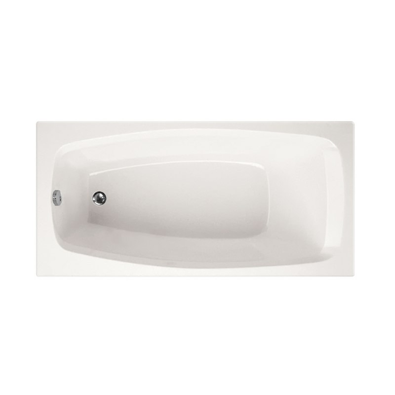 HYDRO SYSTEMS SLT6030ATO DESIGNER COLLECTION SOLITUDE 60 X 30 INCH ACRYLIC DROP-IN BATHTUB