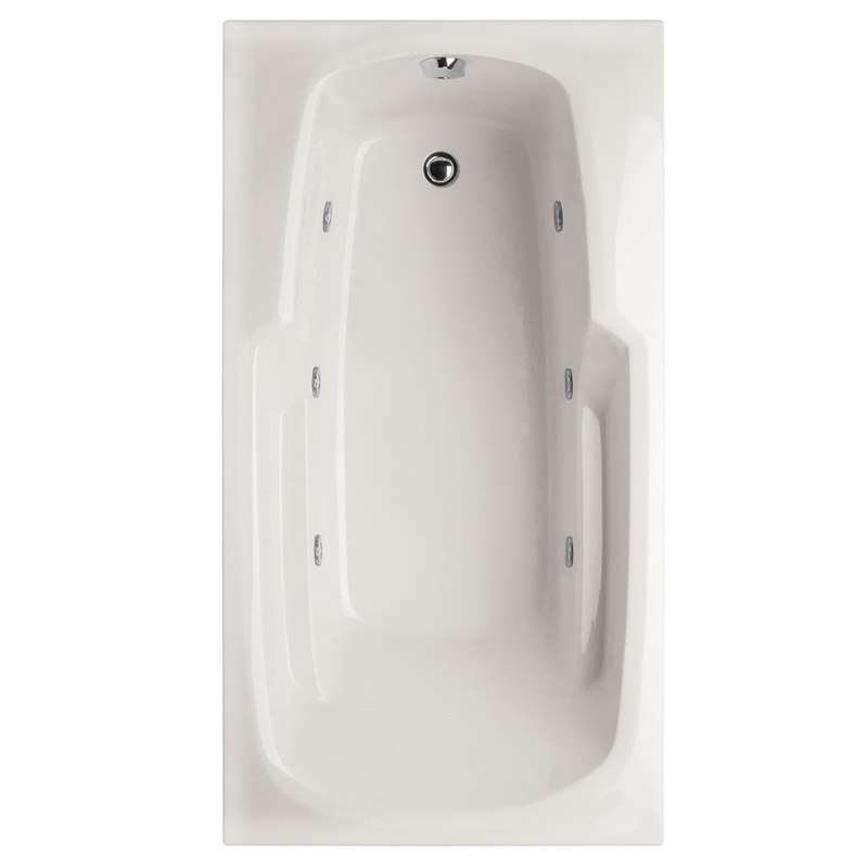 HYDRO SYSTEMS SOL5430AWP DESIGNER COLLECTION SOLO 54 X 30 INCH ACRYLIC DROP-IN BATHTUB WITH WHIRLPOOL SYSTEM