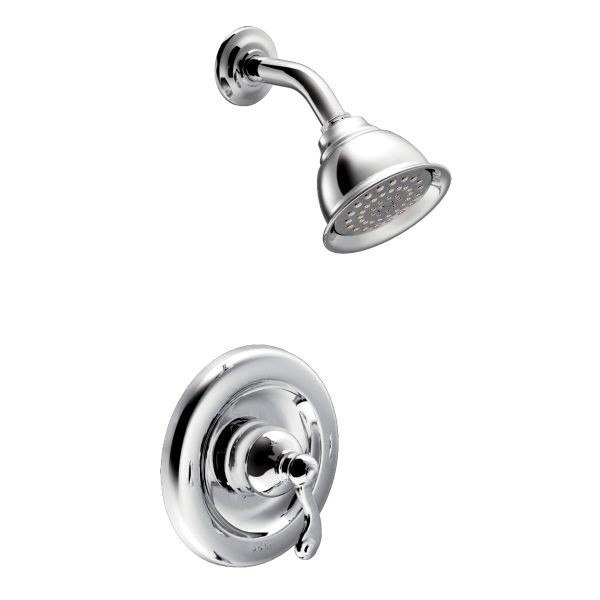 MOEN T2122EP TRADITIONAL ECO-PERFORMANCE POSI-TEMP PRESSURE BALANCE SHOWER PACKAGE