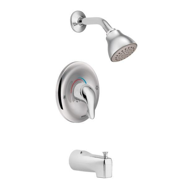 MOEN TL183 CHATEAU POSI-TEMP PRESSURE BALANCE TUB AND SHOWER PACKAGE