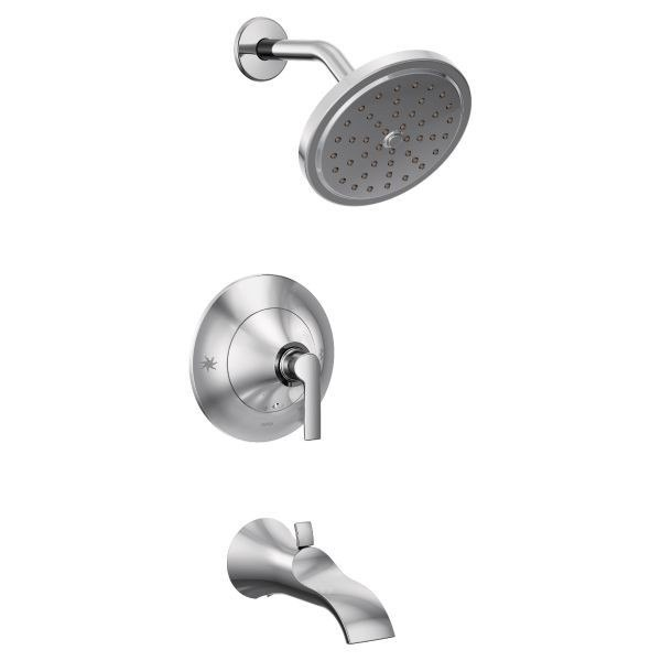 MOEN TS2203EP DOUX ECO-PERFORMANCE POSI-TEMP PRESSURE BALANCE TUB AND SHOWER PACKAGE