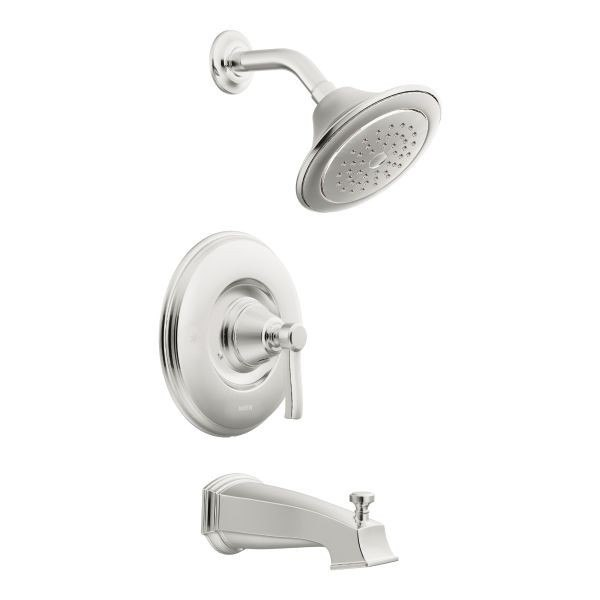 MOEN TS2213EP ROTHBURY ECO-PERFORMANCE POSI-TEMP PRESSURE BALANCE TUB AND SHOWER PACKAGE