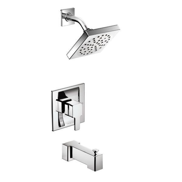 MOEN TS2713EP 90 DEGREE ECO-PERFORMANCE PRESSURE BALANCE TUB AND SHOWER PACKAGE