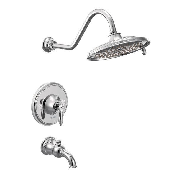 MOEN TS32104 WEYMOUTH POSI-TEMP PRESSURE BALANCE TUB AND SHOWER PACKAGE