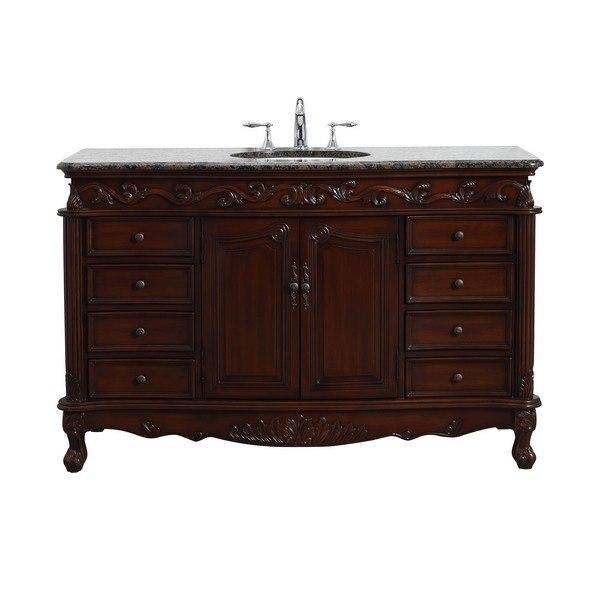 Modetti Mod3882sb 56 Buckingham Inch, 56 Inch Bathroom Vanity