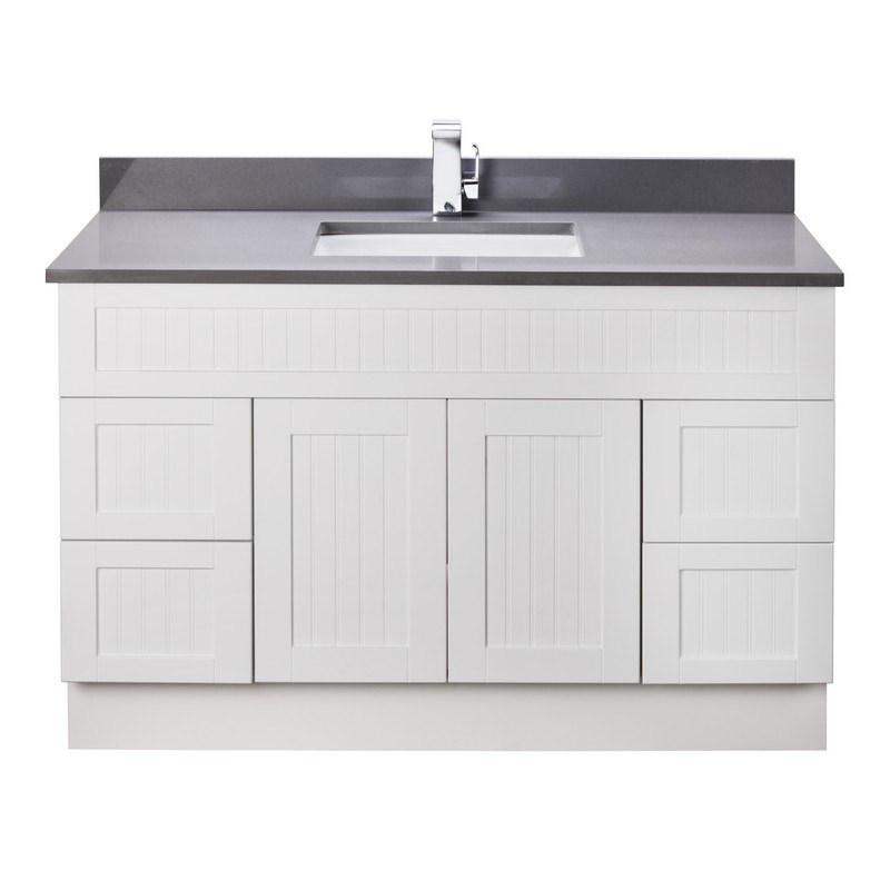Cutler Kitchen And Bath Cotsw48t Stratford Collection 48 Inch Bathroom Vanity With Quartz Top In Cottage