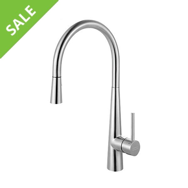 SALE! FRANKE FF3450 STEEL PULL-DOWN KITCHEN FAUCET