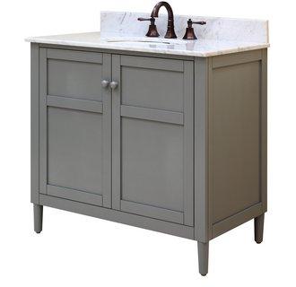 Sagehill Designs HP3621D Harper 36 Inch Wood Vanity Cabinet