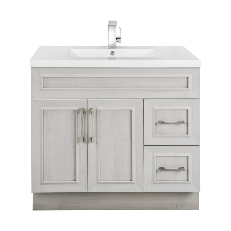 Cutler Kitchen And Bath Ccmctr36rht Classic Collection 36 Inch Bathroom Vanity In Meadows Cove