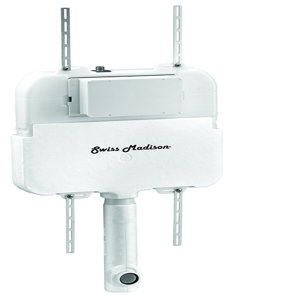 Swiss Madison 2/' X 4/' Concealed In-Wall Toilet Tank Carrier System For Back To