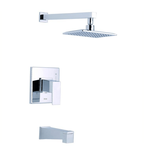 DANZE D501062TC MID-TOWN TUB AND SHOWER TRIM KIT, 1.75 GPM