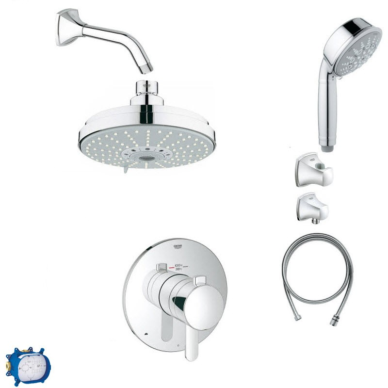 GROHE GRANDERA COMBO PACK II SHOWER SYSTEM