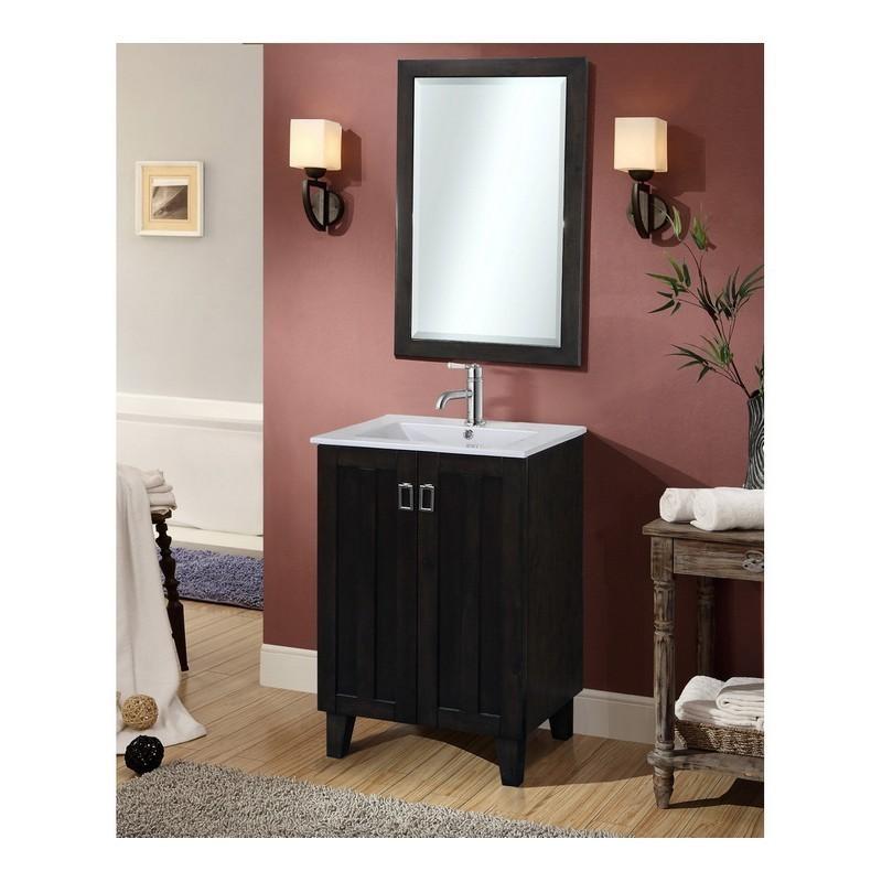 24 Inch Single Sink Bathroom Vanity, Bathroom Vanity Sink Tops 24 Inch