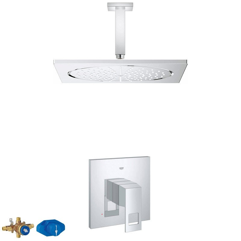 GROHE RAINSHOWER COMBO PACK II SHOWER SYSTEM