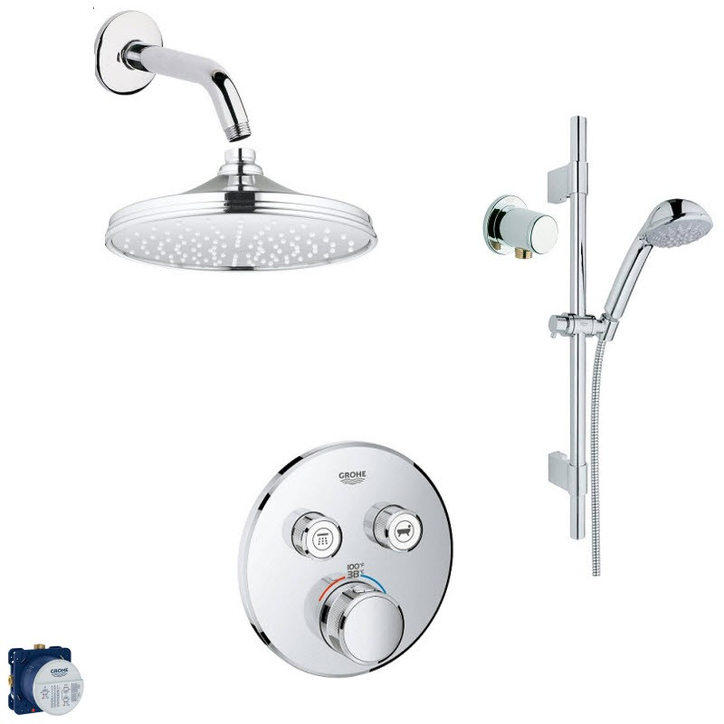 GROHE RELEXA COMBO PACK SHOWER SYSTEM
