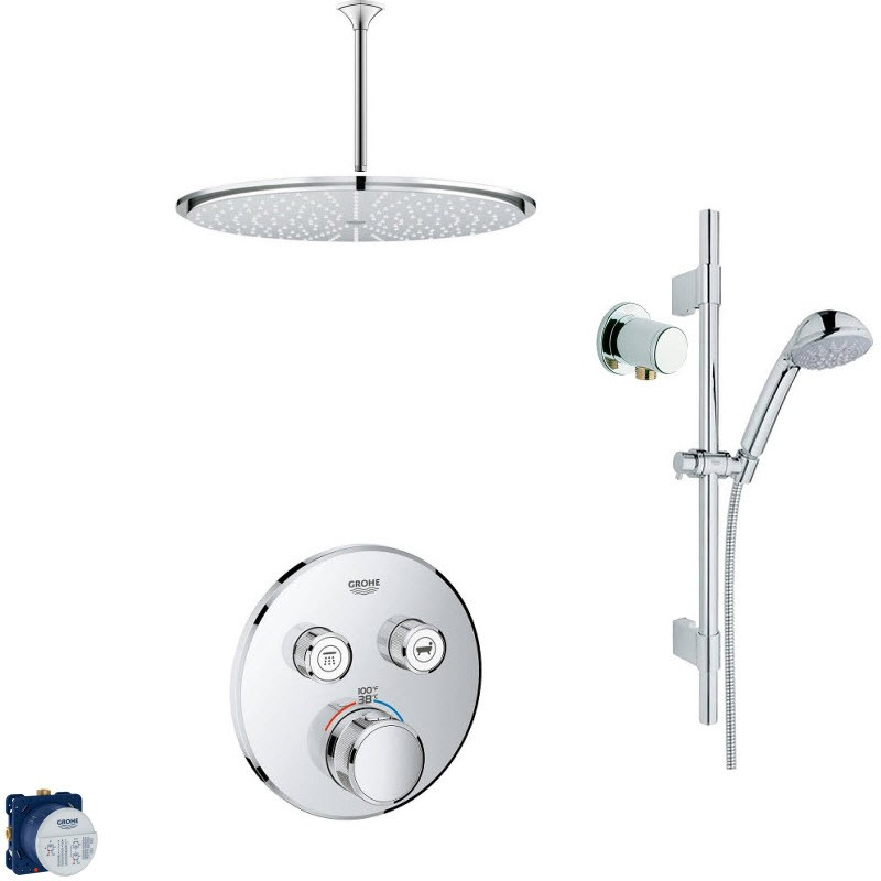 GROHE RELEXA COMBO PACK II SHOWER SYSTEM