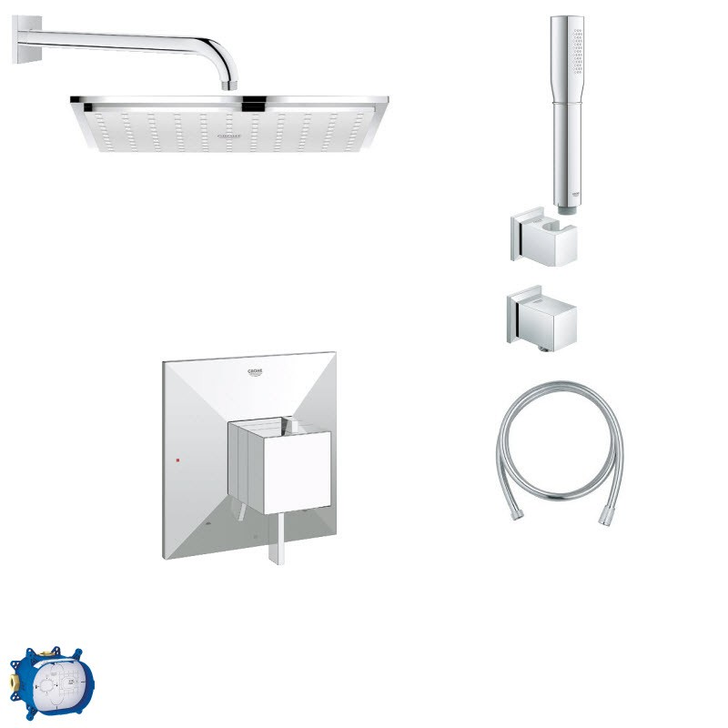 GROHE ALLURE COMBO PACK II SHOWER SYSTEM