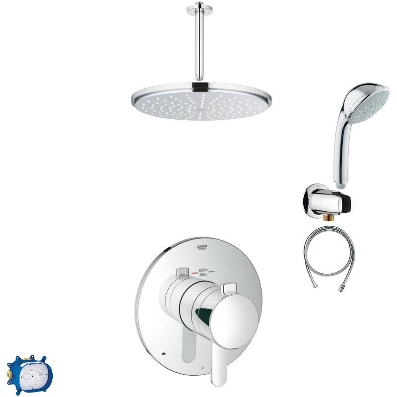 GROHE ALLURE COMBO PACK IV SHOWER SYSTEM