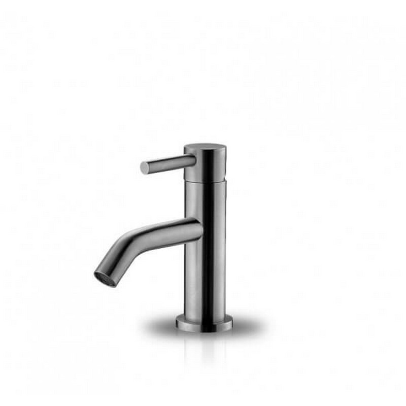 JEE-O 800-1700 SLIMLINE 6.18 INCH TOP MOUNTED STAINLESS STEEL WASHBASIN FAUCET