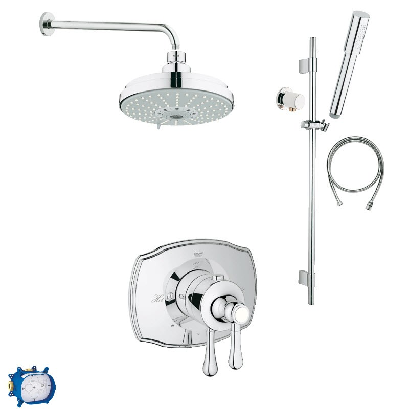 GROHE MIRAGE COMBO PACK SHOWER SYSTEM