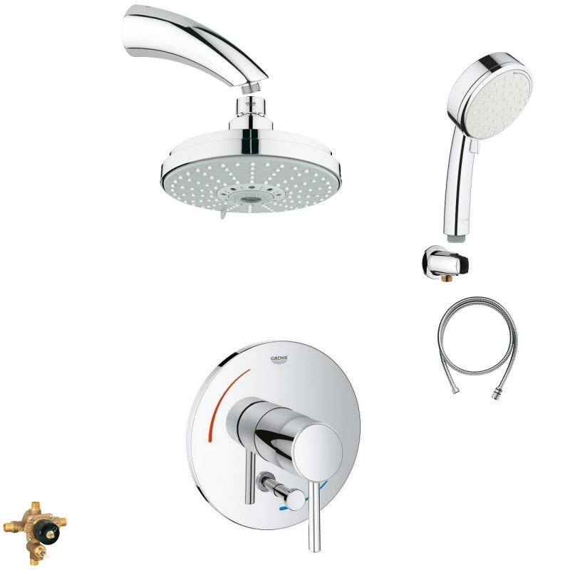 GROHE ORGANIC COMBO PACK SHOWER SYSTEM