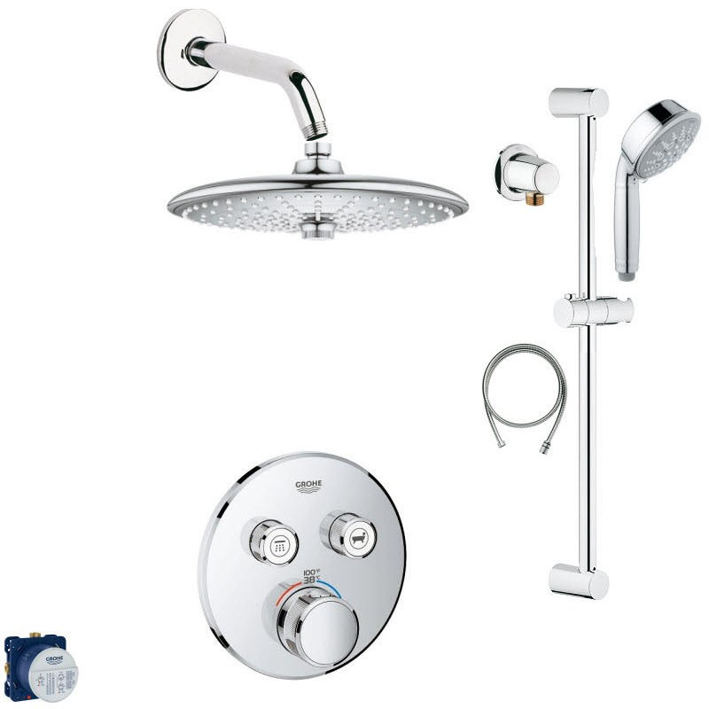 GROHE SMART SHOWER COMBO PACK III SHOWER SYSTEM
