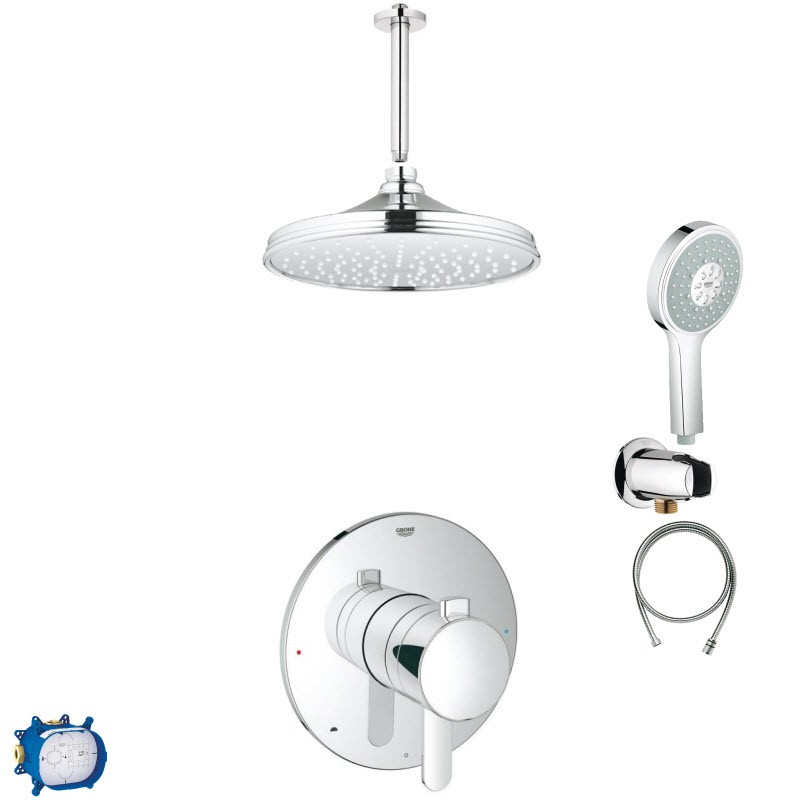 GROHE SOUL COMBO PACK SHOWER SYSTEM