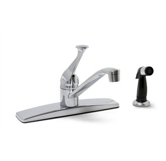 PREMIER 2012022LF CONCORD LEAD-FREE SINGLE-HANDLE KITCHEN FAUCET WITH SPRAY, CHROME