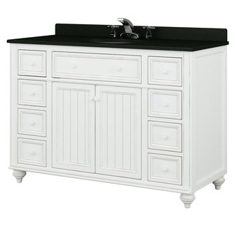 Sagehill Designs CR4821D Cottage Retreat 48 Inch Bathroom Vanity Cabinet