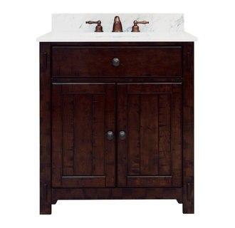 Sagehill Designs MN3021D Milltown 30 Inch Vanity Cabinet