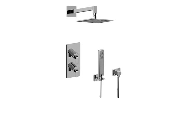 GRAFF GM2.022WD-LM40E0 IMMERSION THERMOSTATIC SHOWER SYSTEM - SHOWER WITH HANDSHOWER
