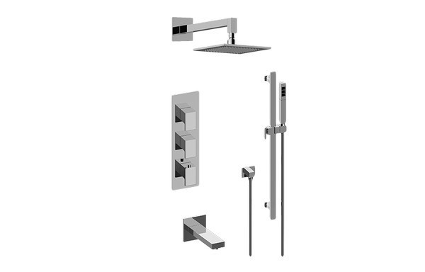 GRAFF GM3.612WT-LM31E0 SOLAR FULL THERMOSTATIC SHOWER SYSTEM (ROUGH AND TRIM)