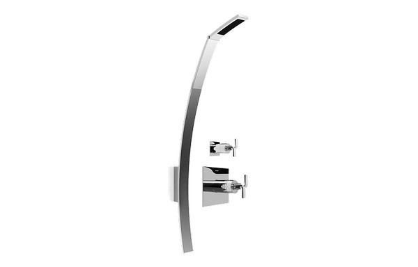 GRAFF GF4.000A-C9S IMMERSION THERMOSTATIC SHOWER SET (ROUGH AND TRIM)