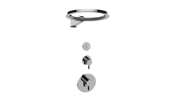 GRAFF GL2.009SD-LM46E0 TERRA THERMOSTATIC SHOWER SYSTEM - RING