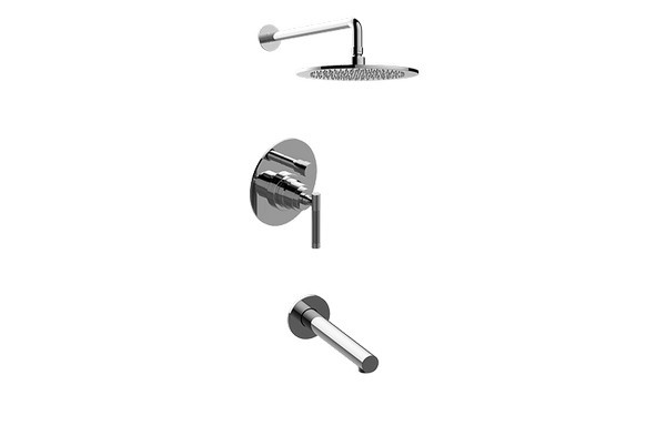 GRAFF G-7282-LM57B HARLEY PRESSURE BALANCING SHOWER SYSTEM - TUB AND SHOWER