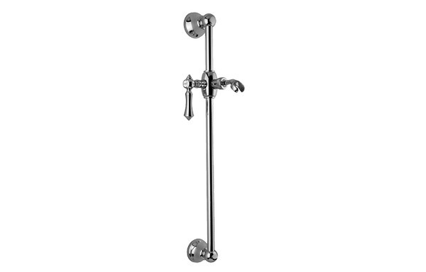 GRAFF G-8601-LM15S CANTERBURY 22 INCH TRADITIONAL WALL-MOUNTED SLIDE BAR