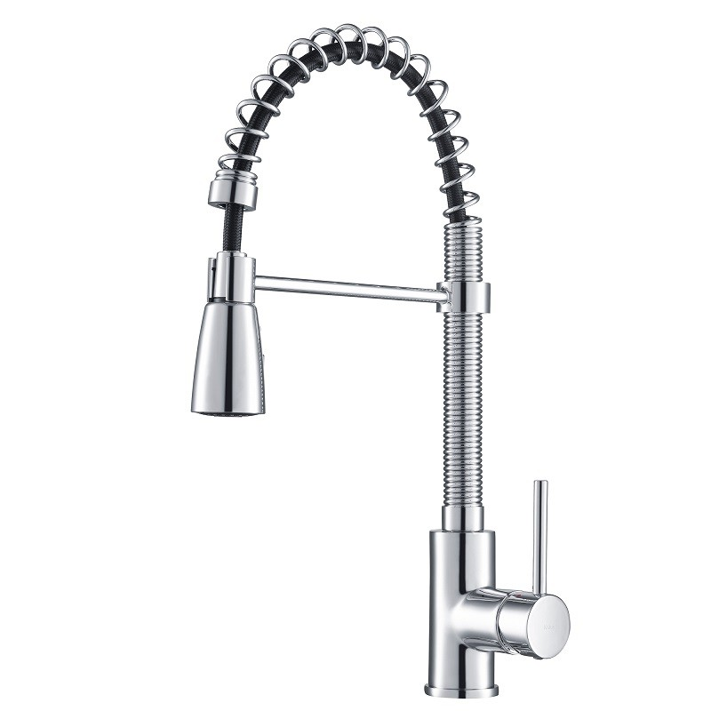 KRAUS KPF-1612 SINGLE LEVER PULL OUT KITCHEN FAUCET