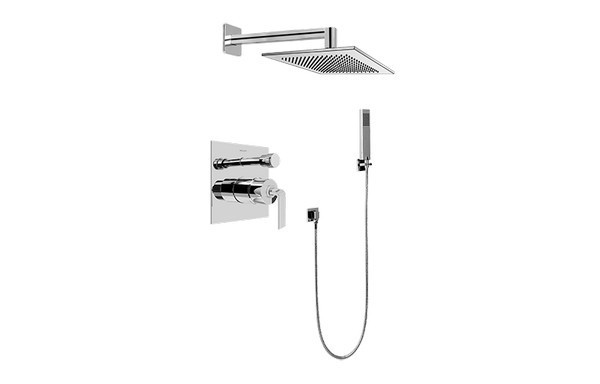 GRAFF G-7295-LM40S IMMERSION CONTEMPORARY PRESSURE BALANCING SHOWER SET